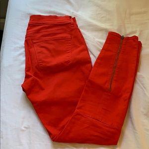 Gap red jean